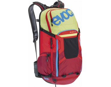 evoc FREERIDE TOUR 30L TEAM backpack TEAM lime/red/ruby