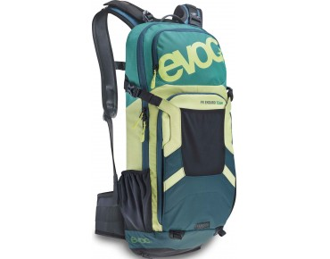 evoc FREERIDE ENDURO 16L backpack TEAM green/lime/petrol