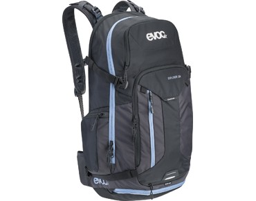 evoc EXPLORER 30L Rucksack black/mud
