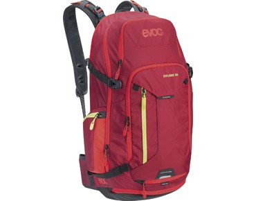 evoc EXPLORER 30L backpack ruby