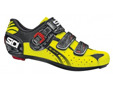 SIDI GENIUS 5 FIT road shoes yellow fluo/black