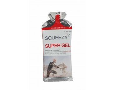 Squeezy gel single sachet 33 g Cola + Koffein