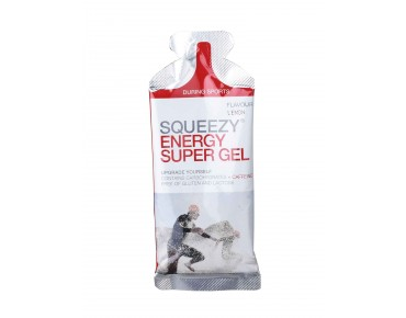 Squeezy gel single sachet à 33 g lemon with caffeine