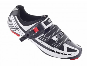 ROSE RRS Carbon Rennradschuhe (RoadBIKE 05/15: Note SEHR GUT) white/black