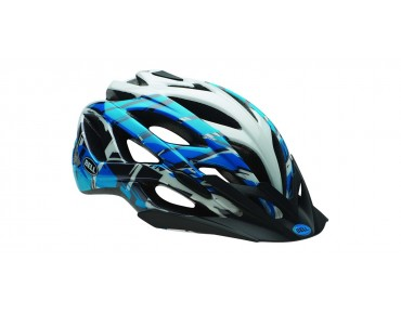 BELL SEQUENCE MTB-helm blue/white burnout