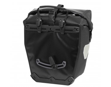 ORTLIEB Back Roller Black'n White set of two pannier bags black