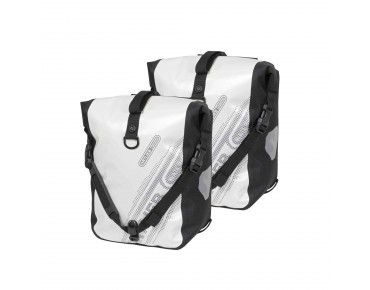 ORTLIEB Sport Roller Black'n White set of two pannier bags white/black