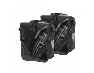 ORTLIEB Sport Roller Black'n White set of two pannier bags black