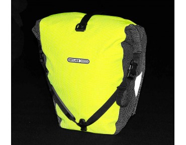 ORTLIEB Back Roller High Visibility pannier set day-glo yellow/reflective black