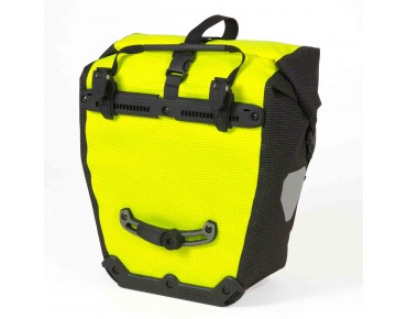 ORTLIEB Back Roller High Visibility set of two pannier bags day-glo yellow/reflective black