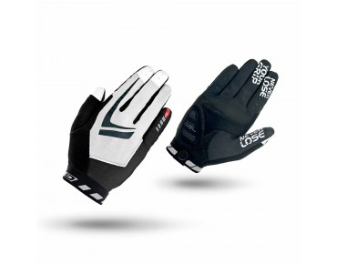 GripGrab RACING full finger gloves black-white