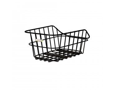 BASIL CENTO ALU rear bicycle basket black