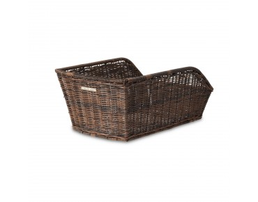 BASIL CENTO RATTAN LOOK rear bicycle basket nature brown