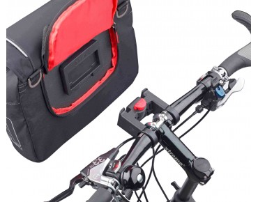 BASIL SPORT DESIGN FRONT BAG handlebar bag incl. KLICKfix adapter plate black