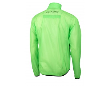 ROSE PERFORMANCE Regenjacke flou green/transparent
