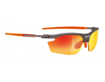 RUDY PROJECT RYDON sportbril graphite/multilaser orange