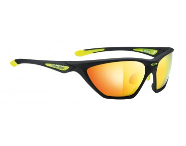 RUDY PROJECT FIREBOLT Brille black soft/multilaser orange