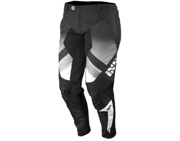 iXS CHAMP Hose für Kinder black/white