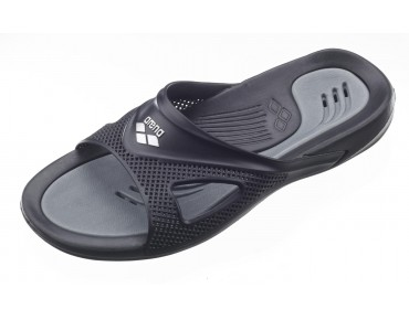 Arena Hydrofit men's bathing sandals schwarz/grau