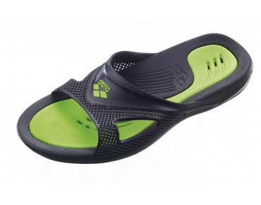 Arena Hydrofit men's bathing sandals schwarz/grün