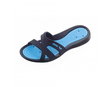 Arena Athena women's bathing sandals schwarz/türkis