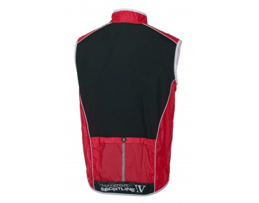 JAKROO THUNDERBIRD Windweste black/red