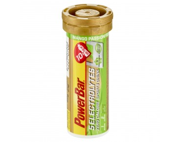 PowerBar 5 Electrolytes effervescent tablets mango passion fruit