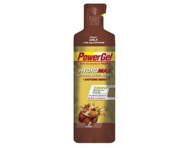 PowerBar Hydro gel- the carbohydrate supplier cola+caffeine