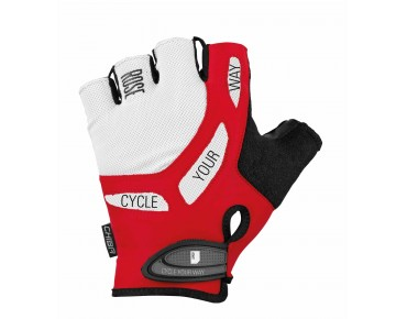 ROSE by Chiba BIOXCELL gloves black/white/red