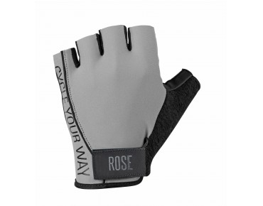 ROSE LYCRA gloves grey