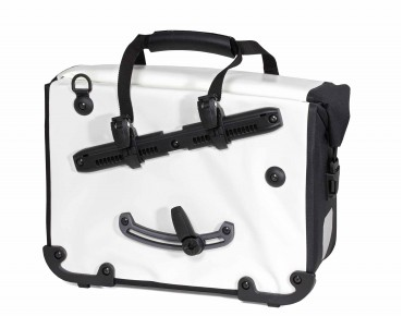 ORTLIEB OFFICE BAG QL2.1 Black 'n White - cartella weiß/schwarz