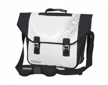 ORTLIEB DOWNTOWN QL 2.1 Black 'n White briefcase white/black