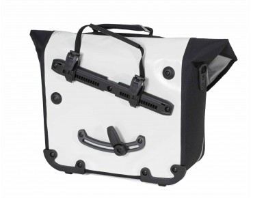 DOWNTOWN QL 2.1 Black 'n White briefcase white/black