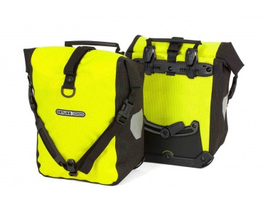 ORTLIEB HIGH VISIBILITY Sport-Roller set of two pannier bags day-glo yellow/reflective black