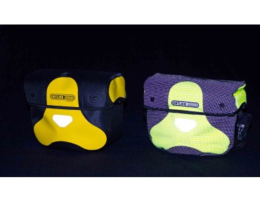 ORTLIEB ULTIMATE 6 HIGH VISIBILITY handlebar bag day-glo yellow/reflective black