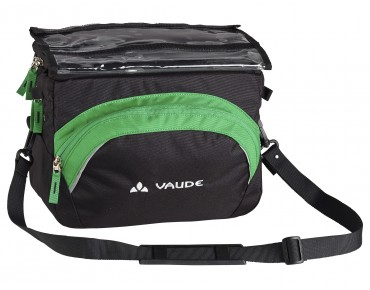 VAUDE ROAD II Lenkertasche black/meadow