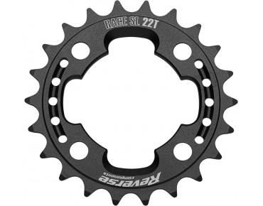 Reverse Race SL chainring 22 teeth black