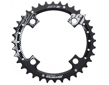 Reverse Race SL chainring 34 teeth schwarz