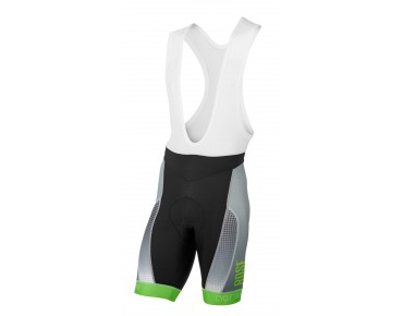 ROSE RACE PRO FLUO bib shorts fluo green/ white