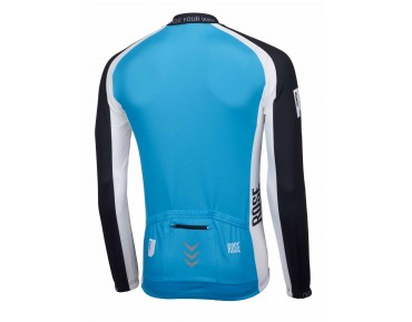 ROSE LINIE 14 long-sleeved jersey (thermal) black/sky