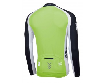 ROSE LINIE 14 Langarm Trikot (Thermo) black/green