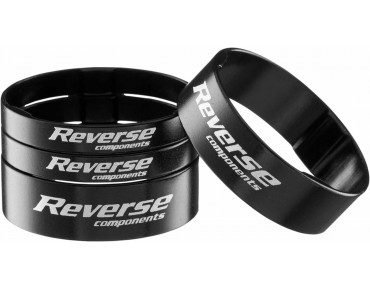 Reverse Alloy ultra-light spacer set black