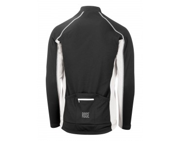 ROSE DESIGN III long-sleeved jersey (Thermo) black/white