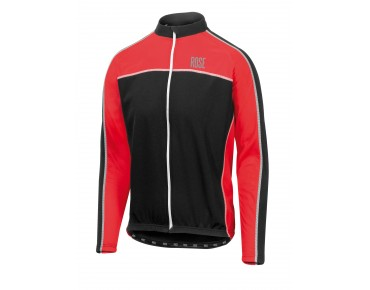 ROSE DESIGN III long-sleeved jersey (Thermo) black/red