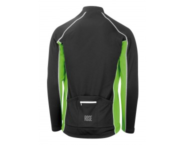 ROSE DESIGN III long-sleeved jersey (Thermo) black/green