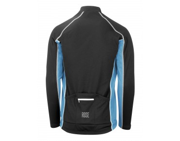 ROSE DESIGN III long-sleeved jersey (Thermo) black/sky