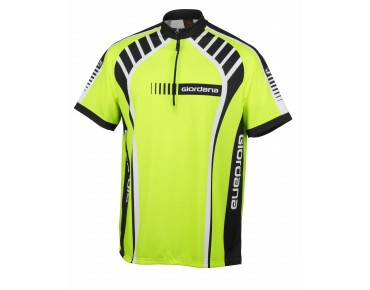 Giordana TRADE VERO Bike Shirt flou yellow/black/white