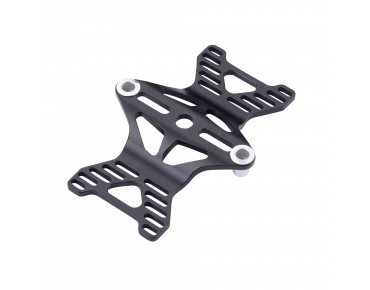 ROSE Tri Clip bottle cage adapter black