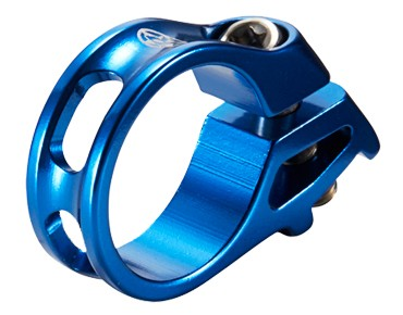 REVERSE Trigger shifter clamp for SRAM dark blue