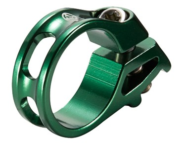 Reverse Trigger shifter clamp for SRAM dark-green